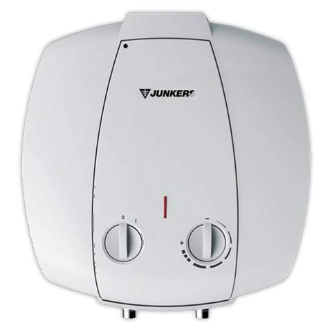 Junkers Grupo Bosch Termo Electrico 10 litros Inferior Elacell Pequenos Litrajes | Calentador de Agua Vertical, Resistencia Ceramica, 1500w