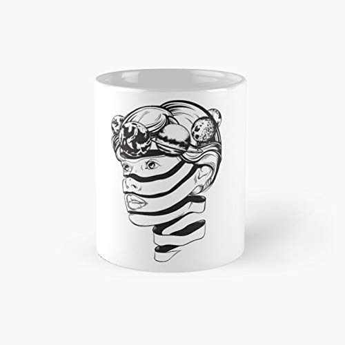 Planet Crown Classic Mug - Unique Gift Ideas For Her From Daughter Or Son Cool Novelty Cups 11 Oz.