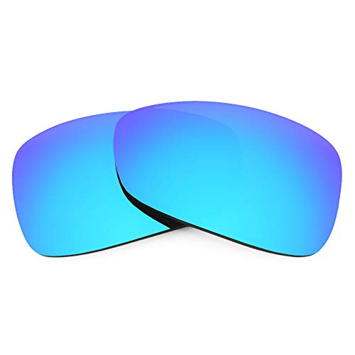 Revant Lentes de Repuesto Compatibles con Gafas de Sol Oakley Montefrio, No Polarizados, Azul Hielo MirrorShield