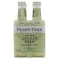 Fever Tree Fever Tree Premium Ginger Beer Pack de 4 Botellas 20cl