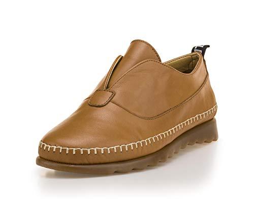 The FLEXX Cheepee lage schoen vrouw cognac 36 EU
