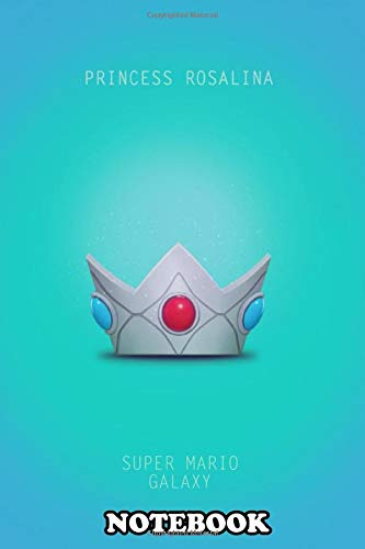 Notebook: Princess Rosalina Minimal Poster , Journal for Writing, College Ruled Size 6' x 9', 110 Pages
