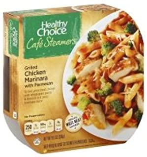 Healthy Choice Cafe Steamers Chicken Grilled Marinara with Parmesan - 9.5 Oz (Pack of 8)