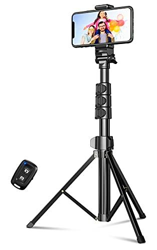 Cocoda Selfie Stick Treppiede, 133 cm Estensibile 3 in 1 Bastone Selfie Bluetooth con Telecomando...