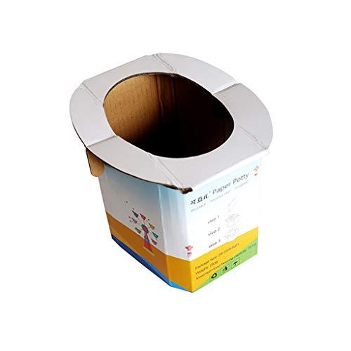zlw-shop Vasino per Bambini Toilette di Emergenza a Bordo da Viaggio Pieghevole Portatile da Toilette Portatile WC per Bambini (Size : 1piece)