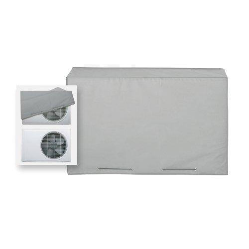 Rayen 6061 - Funda para aire acondicionado, con doble sistema de ajuste, 90 x 55 x 30 cm