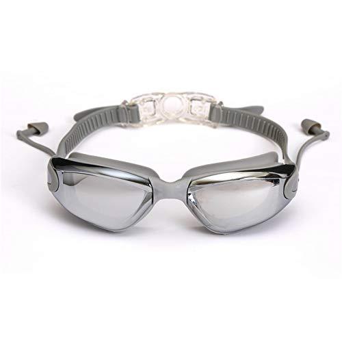 WUJIANCHAO Professionele zwembril zwembril met oordopjes Neusklem Waterdicht siliconen
