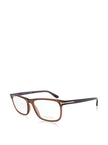 Tom Ford Für Mann 5356 Shiny Dark Brown Kunststoffgestell Brillen, 57mm
