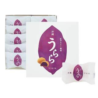 沖縄うらら 紅芋ミルク饅頭 10個入×1箱 エーデルワイス沖縄 フレッシュバターの香り 沖縄県産紅芋の餡