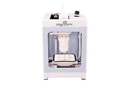 mycusini 3D Choco Drucker, 3D Food Printer, Lebensmittel-Drucker: personalisierte Praline, Schokoladen-Hohlform, personalisierte Schokolade, Torten-Verzierung oder essbare Beschriftung
