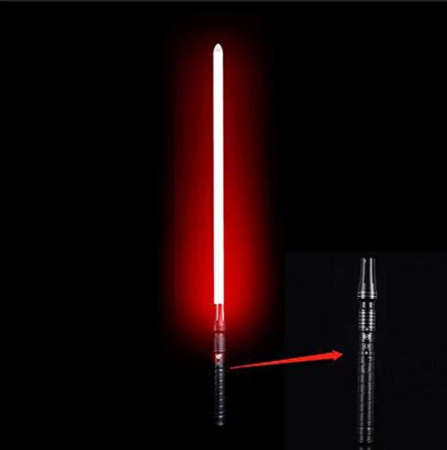 YXCC Spada Laser di ninfee Guerre Stellari con Spada Laser Bacchette della Spada Laser Lama della Spada Laser Spada a Luce variabile RGB con Effetti sonori Spada Laser di Star Wars con Effetti sonori