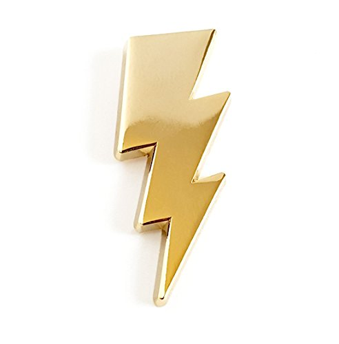 Pinsanity Lightening Bolt Lapel Pin