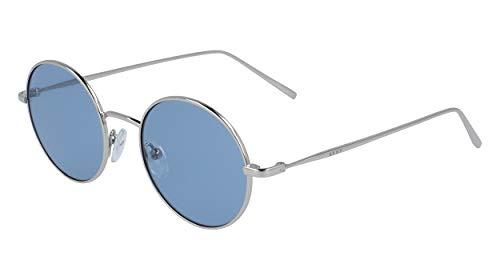 DKNY DK105S Gafas de sol, Silver/Blue, 47 MM, 19 MM, 135 MM...