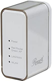 Rosewill N150 Wireless Wi-Fi IEEE 802.11b/11g/11n Up to 150Mbps Portable Travel Router (RNX-TRT150)