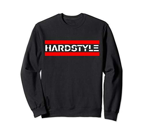 Hardstyle Rawstyle Schriftzug Merchandise Rave Festival Sweatshirt