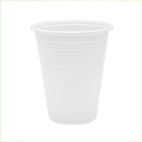 Virsus 1000 Bicchieri Bianchi in polistirene bicchiere per consumo Acqua Drink 200cc 10cf x 100 pezzi cadauna