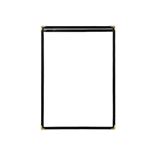 QSJY File Cabinets PVC transparent ändern Blatt High-End-Beauty-Salon Angebot Friseur Friseur Preisliste 31,5 * 23CM (Size : 1-2)