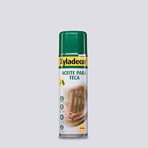 Xyladecor Aceite para Teca en spray Incoloro 500 ml