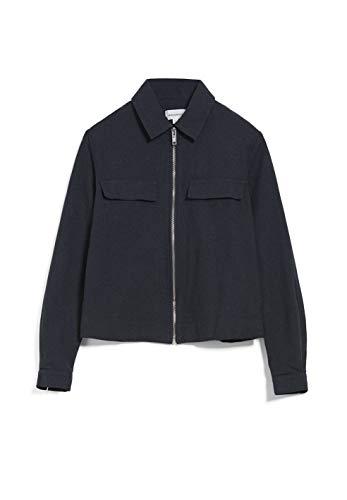 ARMEDANGELS CARESSAA - Damen Jacke aus Bio-Baumwolle L Night Sky Jacken Overshirt Regular fit