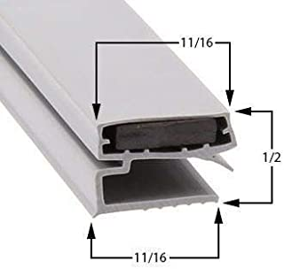 GasketandStripCurtains.com Door Gasket Seal for Refrigerator Cooler Freezer Compatible with Migali 17 1/4 x 23 1/2