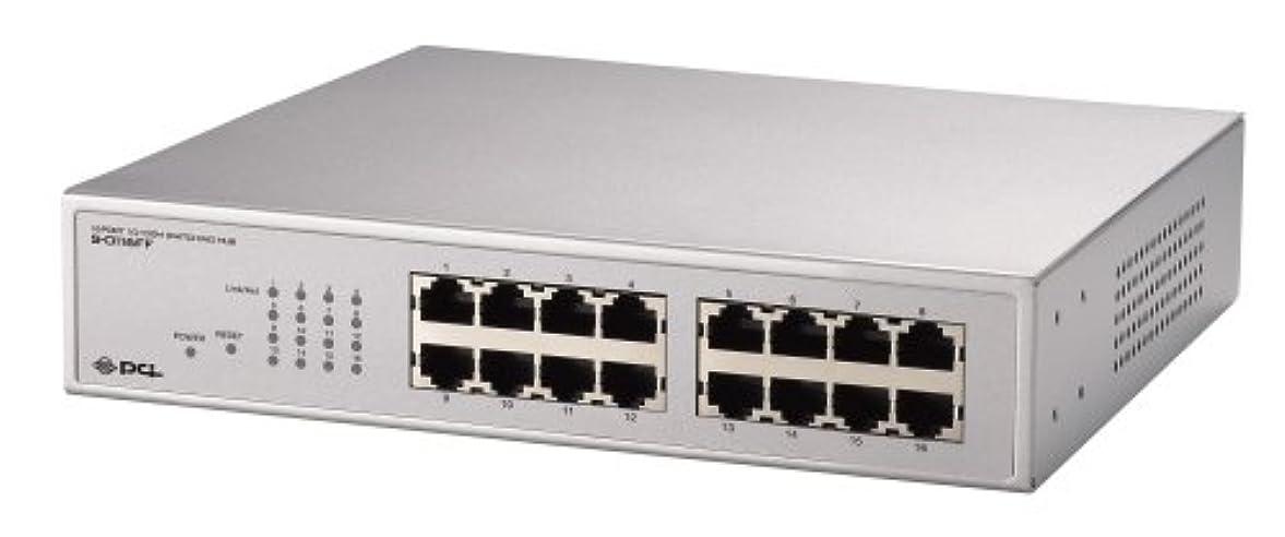 疲れた現金ユーザーPLANEX VLAN TRUNK対応 16ポート10M/100Mスイッチングハブ S-0116FF
