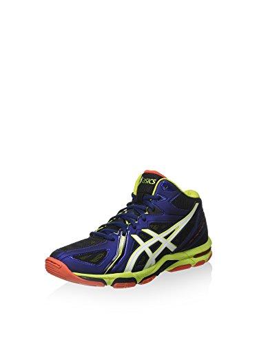 Asics ASICS Herren Gel-Volley Elite 3 Mt Sportschuh, Blu Navy Bianco Lime, 40 EU