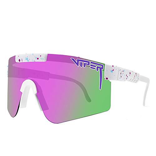 GYAM Photochrome Sonnenbrille für Männer Frauen Radfahren Polarisierte Sport Sonnenbrille UV-Schutz Übergänge Sonnenbrille Fahren Angeln Radfahren Outdoor Sport,C4