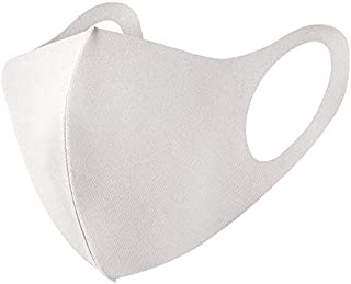 冷感マスク 5枚組 マスク 防風 洗えるマスク 布 立体マスク 洗える mask ますく 5枚入り ユニセックス 抗菌 防臭 薄手 (S M L サイズ)