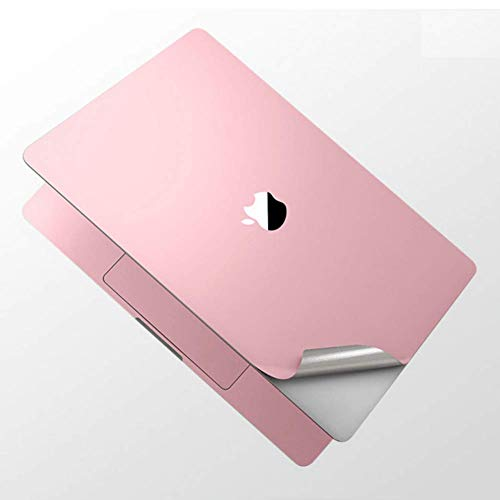 Full Body Surface Guard 3M Vinyl Skin Decal Sticker Case Keyboard Cover Screen Protector Stealth Armor 6-in-1 for 2020 MacBook Pro 13 inch A2251 (Rose Gold)
