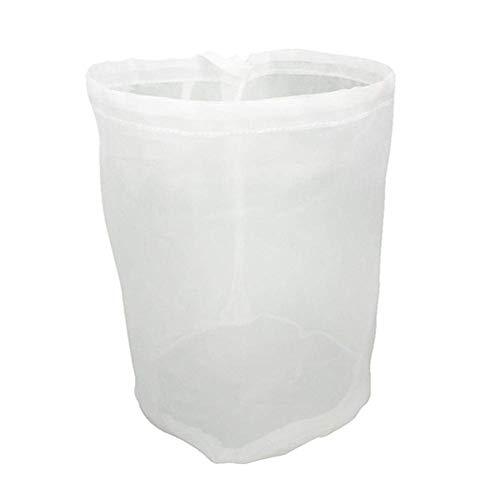 Malla de Nailon Bolsa colador, Bolsa de filtro reutilizable, para Hacer Leche Vegetal, Colar Zumo Leche, almendra, cerveza fría, café, té, cerveza jugo (50 * 55CM)
