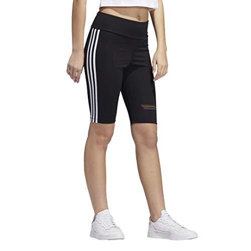 adidas Originals Pride Bike - Pantalones cortos para mujer -  Negro -  Large