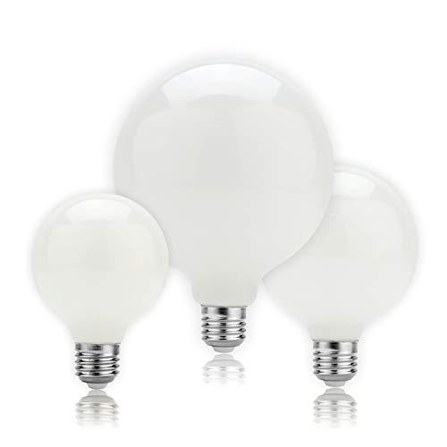 Bombilla LED Edison E27 5W A60 G80 G95 G125 Bombilla De Vidrio Lechoso 220v-aplicaciones De 240V Iluminación De La Oficina De Iluminación De La Iluminación De La Iluminación Interi-Blanco frÍo a60
