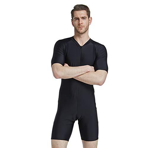 Lxmhz Wetsuit Mannen Surfing Suit Alles-in-een Badpak voor Duiken, Snorkelen & Zwemmen voor gemakkelijk aan en uit te trekken