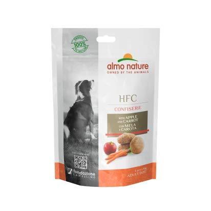 almo nature Dog Hfc Confiserie Snack Manzana y Calabaza 60G 60 g
