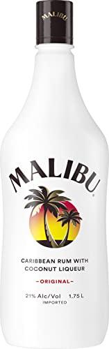 Malibu Original Coconut Rum, 1.75 L, 42 Proof