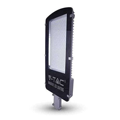 V-TAC Strad-Licht LED SMD Street Light Schwarz 50 W, Ip65 Naturlicht 4500K
