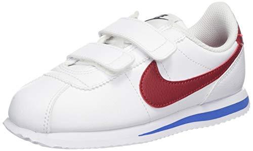 Nike Jungen Cortez Basic SL (PSV) Laufschuhe, Weiß (White/Varsity Red/Varsity Royal/Black 103), 31 EU