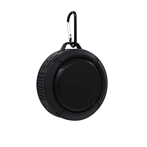 XINXI-YW Haut-parleurs Bluetooth Bluetooth extérieur imperméable étanche Hautfree Portable Mic Camping Camping Camping Bike Piscine Piscine Piscine avec Ventouse (Color : Black)