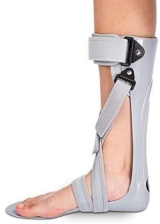 Férula de Soporte de pie de Gota - Soporte de ortesis del pie del Tobillo - AFO Brace para Gota de pie, Fascitis Plantar y tendinitis de Aquiles, Derecha, m (Color : Left, Size : S)