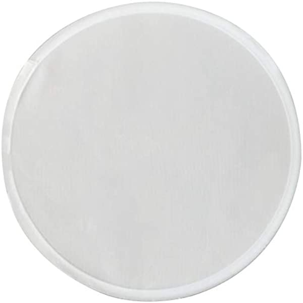 TOOGOO Foldable Round Fan White