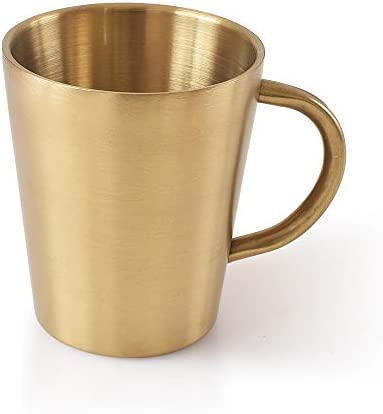 Newk Stainless Steel Tumblers 10 Oz 300 ml Metal Cup Double Wall Drinking Mug for BBQ Home Office product image