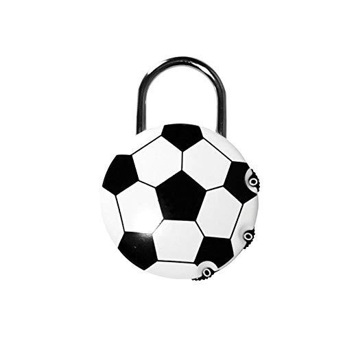 Reisbagage, Rugzakken, koffers, Anti-diefstal Code sloten, Voetbal, Ventilator geschenken, Bagage hangsloten Ordinary Football