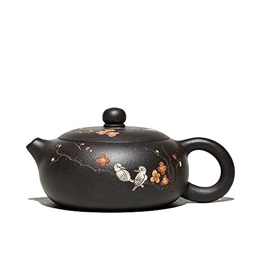 YUERD910 Pot TAPOT Shi Shi Kong ZHU MAND XI Shi TAPOT Pot Yixing Avvery Clay Cinese Kongfu Tea Pots Circa 210ml Tradizionale