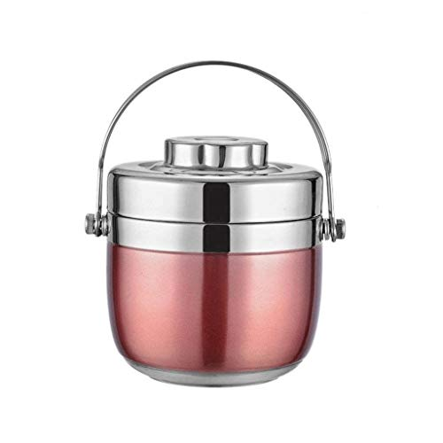 VHFGD Lunch box-Best Stainless Steel Soup Thermos Food Jar - Vacuum Insulated - Hot Soup