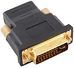 Hittime Gold Plated Female to DVI 24+5 Male Video Adaptor Converter