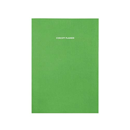 Poketo Concept Planer Notizbuch, Key Lime