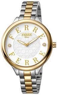 Ferre Milano Women's FM1L033M0091 Swiss Made Two Tone Bracelet Watch