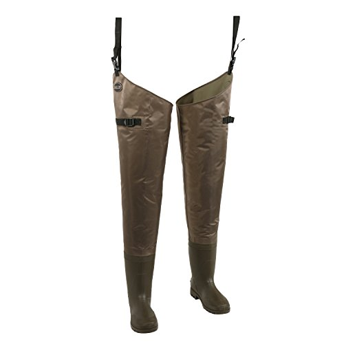 Allen Fishing & Hunting Hip Waders with Insulated Boots, Multi, 10 (11760)