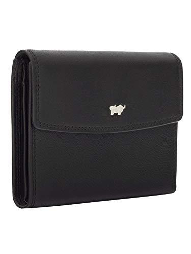 BRAUN BÜFFEL Geldbörse Golf 2.0 aus echtem Leder - 14 Fächer - schwarz