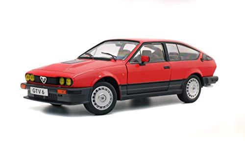 SOLIDO Alfa Romeo GTV 6 Scala 1:18 Modellino di Auto in Metallo Escluvamente per Collezionisti